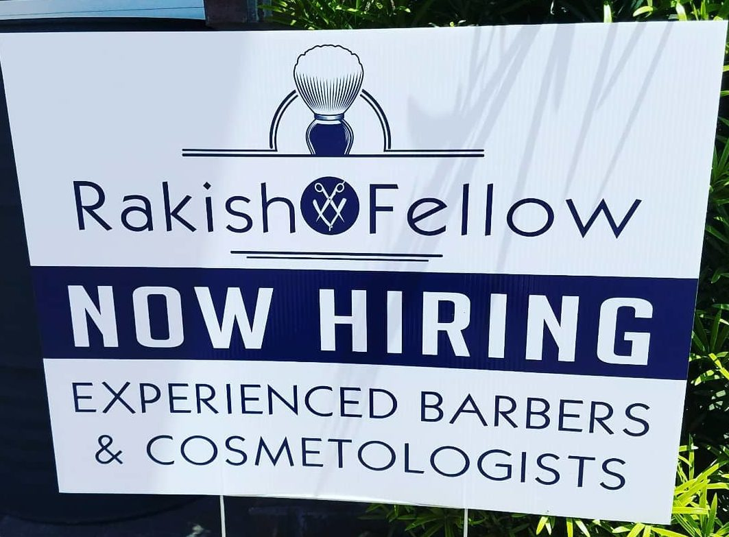 Now Hiring An Experienced Barber or Cosmetologist Featured Image